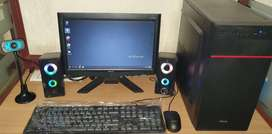FullSet Desktop PC Webcam Online Classes Tution Class DELL HP i3 i5 i7