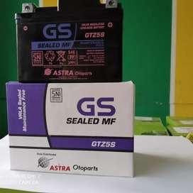 Aki motor mobil GS Astra GTZ5S