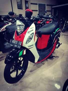 Yamaha mio fino 2016 seperti baru