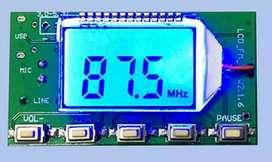 Oscilator PLL FM Stereo mini 76 108 mhz Radio FM