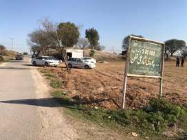 Plot for sale / residential / Rawat rawalpindi / 5 marla / main road