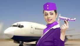 Cabin Crew, Air Hostess, Airlines, Ground Staff, Flight Attendant Job