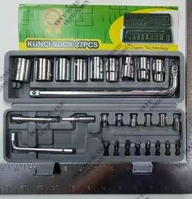 PROMO NANKAI JAPAN Original Kunci Shock sok set 27 Pcs kenmaster