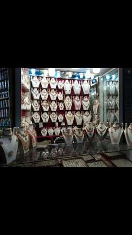 Running artificiall jewelley shop in ichhra main bazar