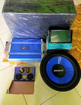 Paket lengkap audio mobil sesuai Pict