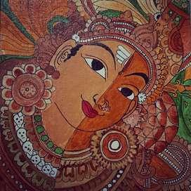 Ardhanareeshvaran painting
