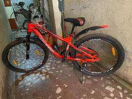 Attractive neon colour with big tyres and totally new..