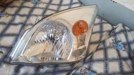 2007 model toyota prado headlight passenger side. Totally genuine