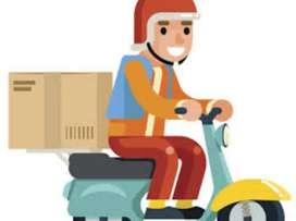 Need delivery boys at Guntur