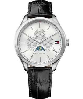 Tommy Hilfiger 1770014 men's leather multi-function watch
