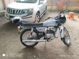 Yamaha rx135 4 speed Bike is in mint condition
