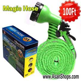 Magic Hose Pipe 100 Ft – Flexible Garden Hose