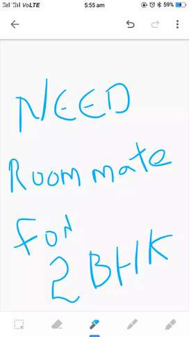 Need room mates for 2 bhk