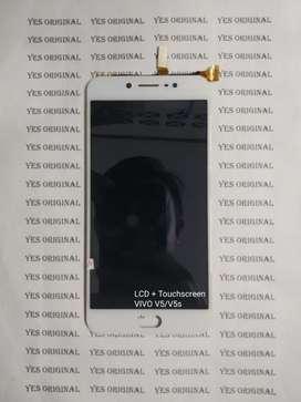 LCD Vivo V5 (Free Pasang) Bonus Tampered Glass