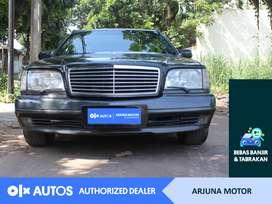 [OLXAutos] Mercedes Benz S320 1991 Bensin A/T Hitam #Arjuna Motor