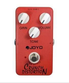 Efek gitar Joyo crunch distortion JF-03