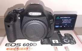 CANON 600D BODY I Less Shuter Count   Canon Serviced-FEB'20 I Good Cdn