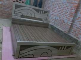 Brand new double bed with box at wholesale rate