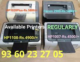 HP020 Plus // Canon 2900 Printers Available REGULARLY