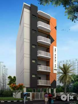 Affordable price specious 3bhk flat sale at Vijayawada