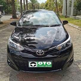 Toyota Yaris G 2019 km 80 perak eks hadiah