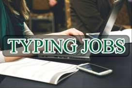 Online Typing Job for Part Timers