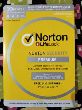 Norton security antivirus for 10 devices at 60 percent off