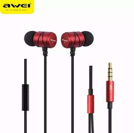 AWEI Q5i Jack In-Ear Noise Isolating Mic Super Super Bass Earphone
