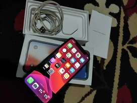 Iphone grey internal 256GB minus face id rusak
