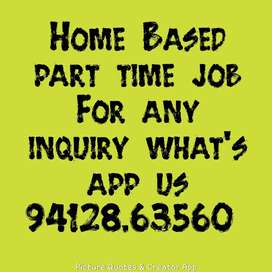 part time home based work