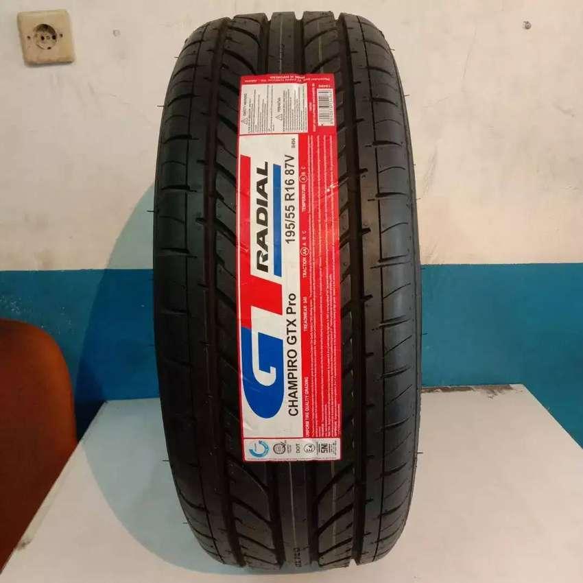 Ban GT Radial baru ukuran 195/55 R16 Champiro GTX Pro Vios Yaris