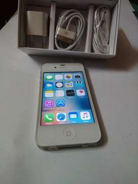 Iphone 4 s 16 gb white with invoice