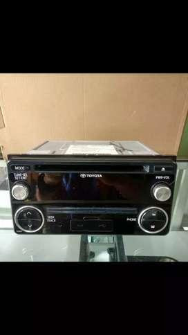 Hedunit dobeldin standar avanza veloz cd mp3 usb aux radio bluetooth
