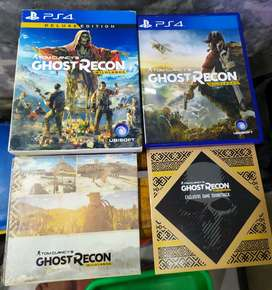Kaset Game ps4 GhostRecon Wildland duluxe edition