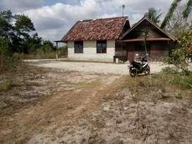 Di jual Tanah ada Rumah butuh cepat nego