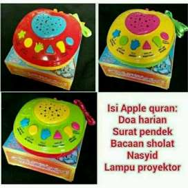 PROMO apple al qur'an 6 tombol free batrei