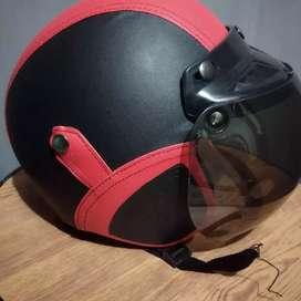 Helm BOGO list Merah