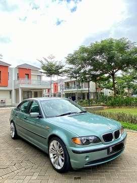 BMW E46 318i 2003 A/T terawat serie 3 light green