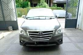 Toyota INNOVA G 2.5 DieseL A/T 2014 pemakaian 2015