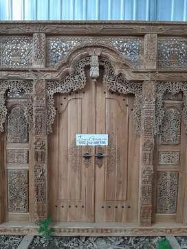 cuci gudang pintu gebyok gapuro jendela rumah masjid musholla reni
