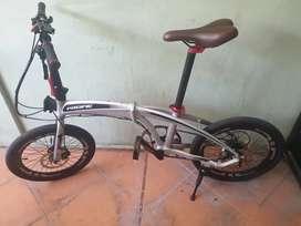 Jual Sepeda Lipat Pacific Noris 2.1 upgade full, fnhon dahon