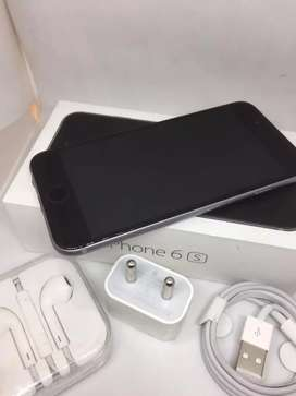I PHONE 6S 32GB GREY COLOUR WITH WARRANTY BRAND NEW MOBILE