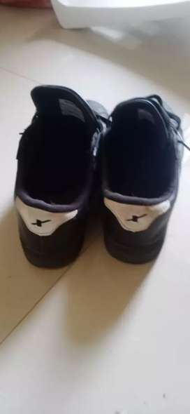 1 day used new canvas shoes size 8