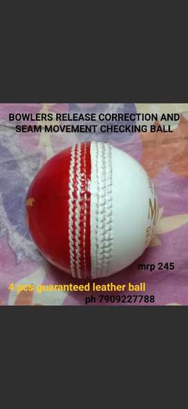 BOWLERS WHO CAN CORRECT MISTAKE OF RELEASING AND CHECK SEAM MOVEMENT