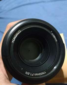 Lensa Fix YN50mm F1.8N YONGNUO for NIKON