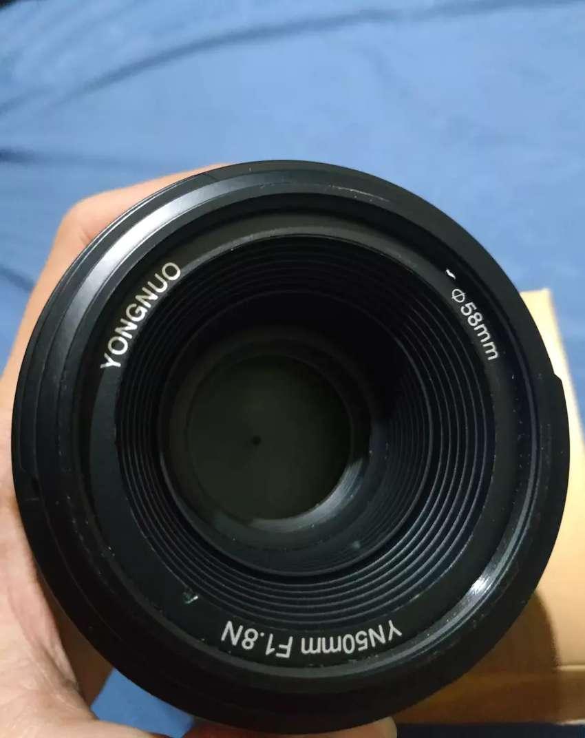 Lensa Fix YN50mm F1.8N YONGNUO for NIKON 0