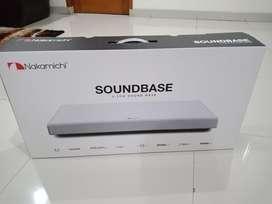 Nakamichi Soundbase 2.1ch Wireless Speaker Bluetooth Optical SoundBar