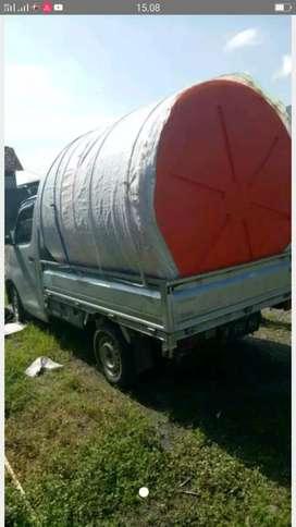 Tandon air 3000 liter bahan plastik gratis antar bahan tebal