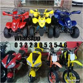Special Low price for kids Petrol 2 & 4 wheel bike available here
