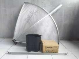antena parabola jaring fullsett